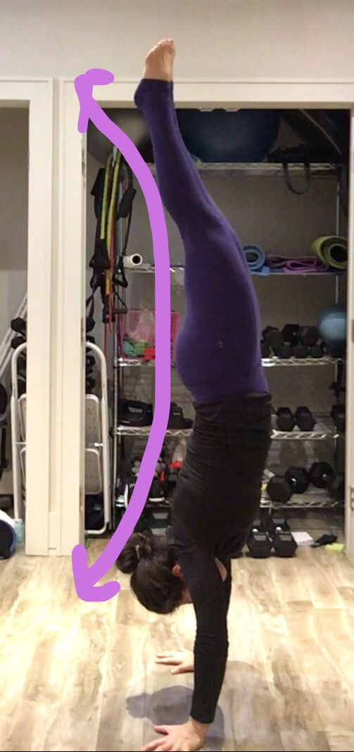 Hollow Body Position 1 Spynga cycle yoga strength Toronto