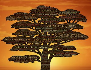 personal growth mindfullness tree through yoga